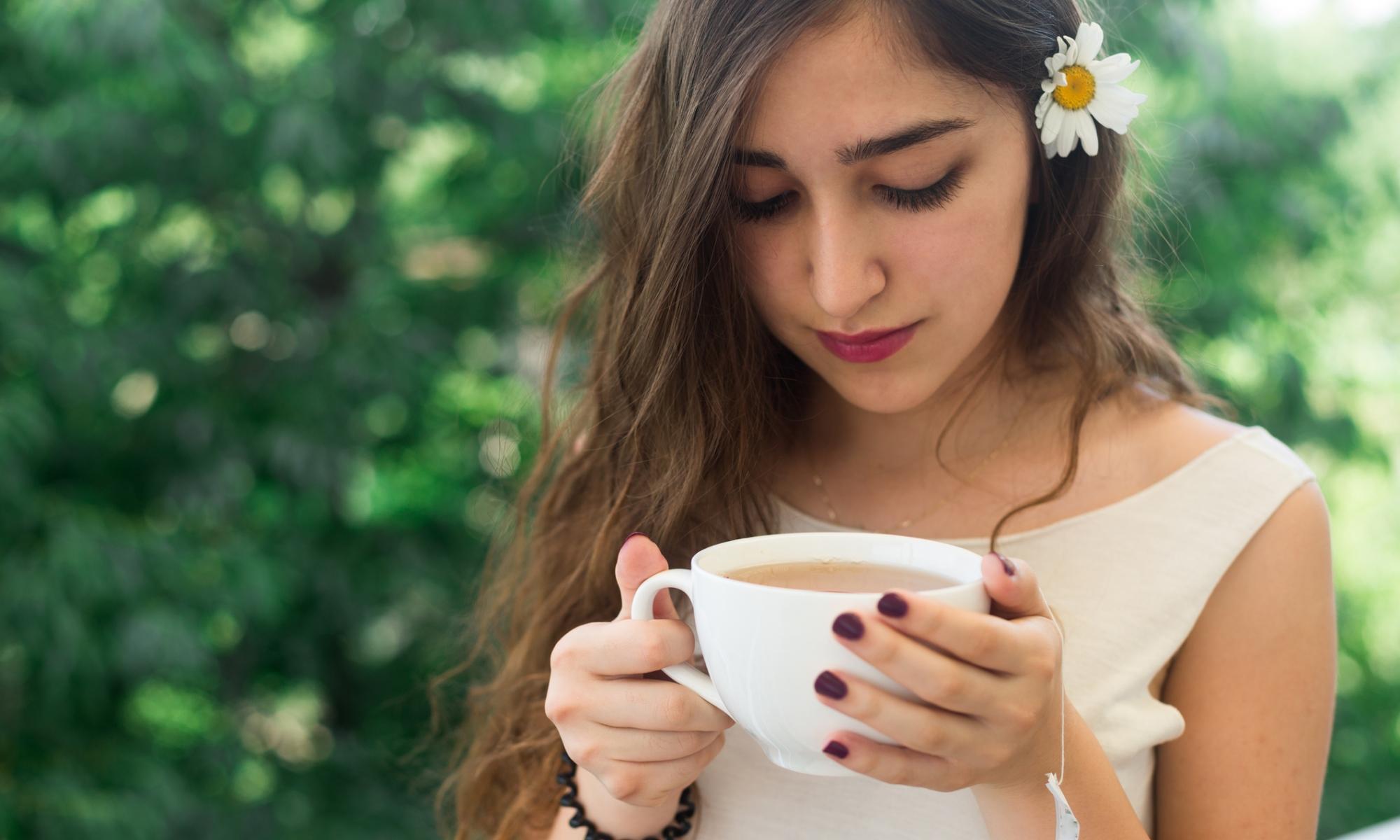 té de manzanilla