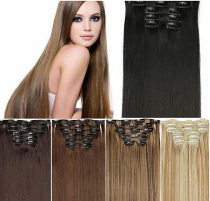 Clip-In Hair Extensions from Lux Beauty Club