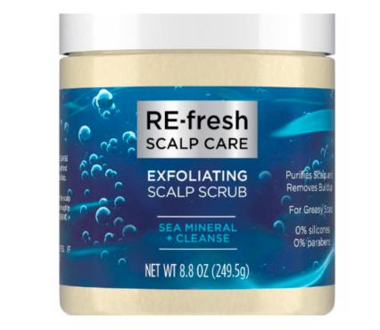 RE-fresh Sea Mineral + Cleanse Exfoliating Scalp Scrub
